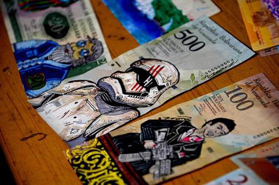 راهکار ونزوئلاییها برای مقابله با افزایش قیمت دلار+عکس