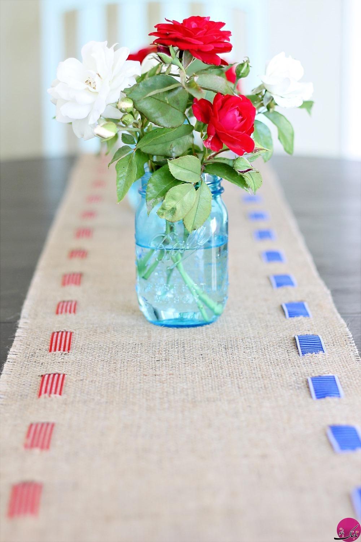 رومیزیهایی از جنس گونی؛ ساده و متفاوت