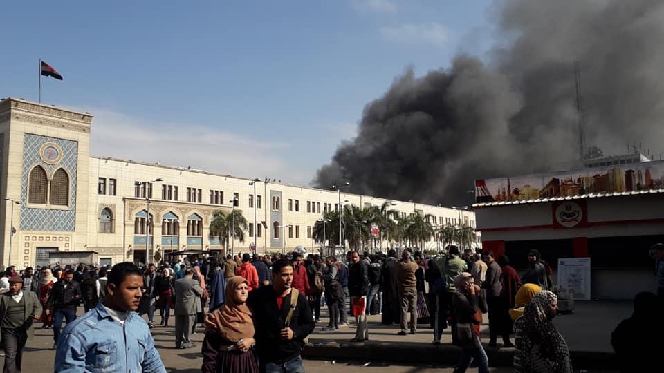 سانحه مرگبار حادثه قطار در قاهره +تصاویر