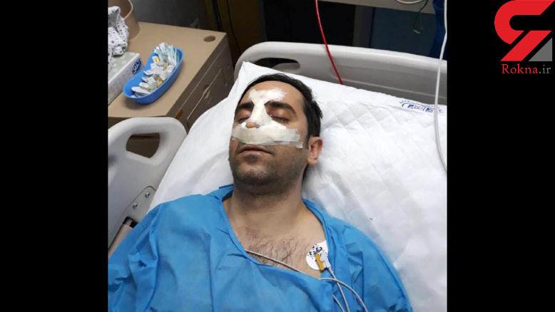 حال و روز مرد استقلالی که از علیرضا حقیقی مشت خورد +عکس