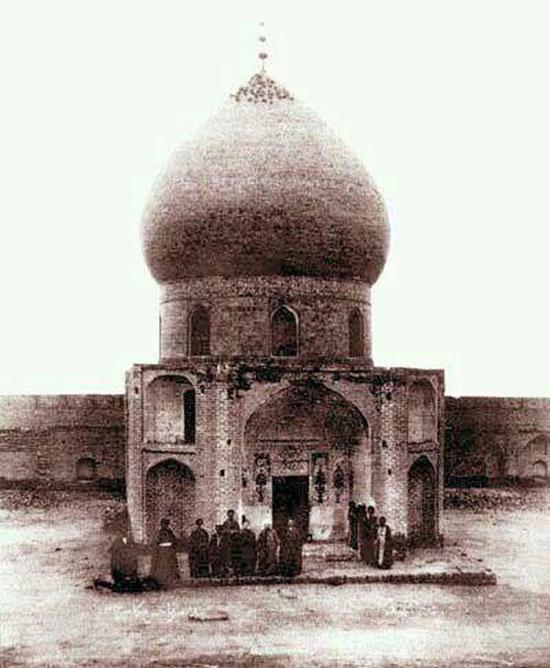 قدیمیترین عکس موجود از حرم امام حسین(ع)