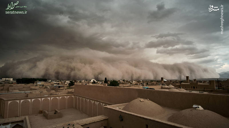 عکس دیدنی عکاس رویترز از «طوفان یزد»