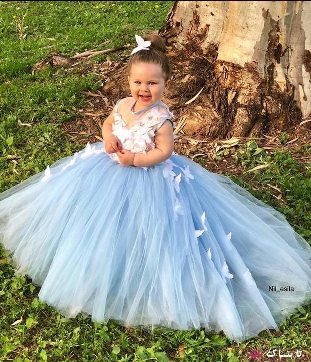 خوش لباس ترین پرنسس کوچولوی دنیا!