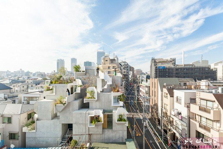 ادغام طبیعت و زندگی شهری در توکیو