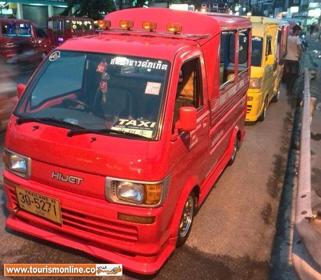 تاکسیهای جالب یک شهر توریستی +عکس