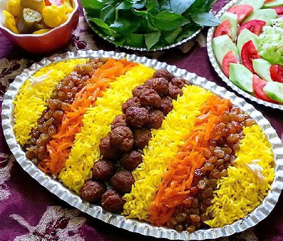 ساطری پلو؛ غذای محلی خراسان