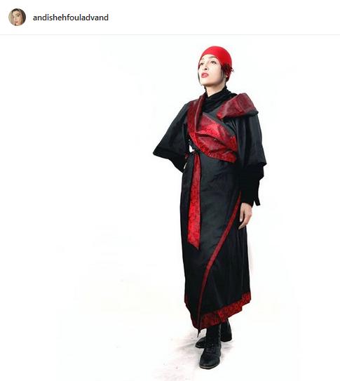 خانم بازیگر با لباس ژاپنی+عکس