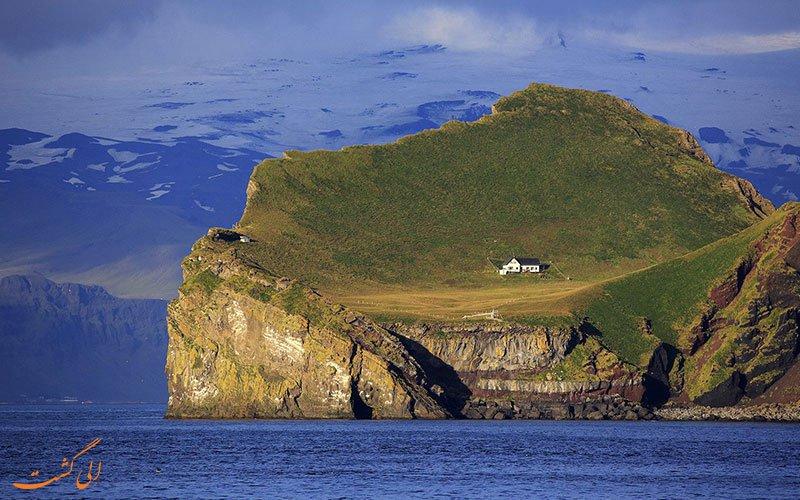 این جزیره فقط یک خانه دارد+تصاویر
