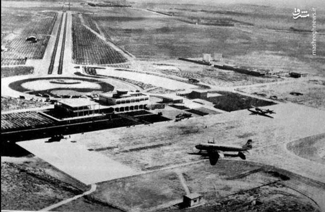فرودگاه شیراز؛ ۵۷ سال قبل+عکس