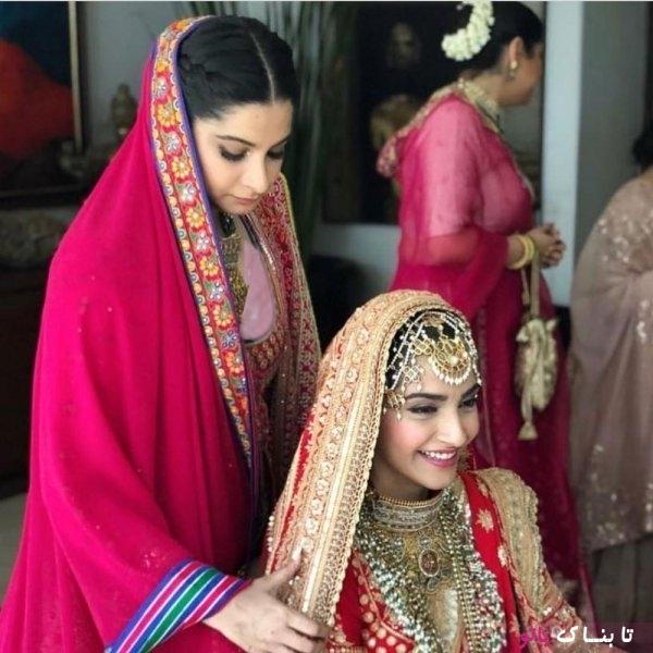 ستاره های بالیوود در مراسم ازدواج دختر بازیگر معروف