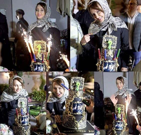 جشن تولد لاکچری بازیگر ایرانی +عکس