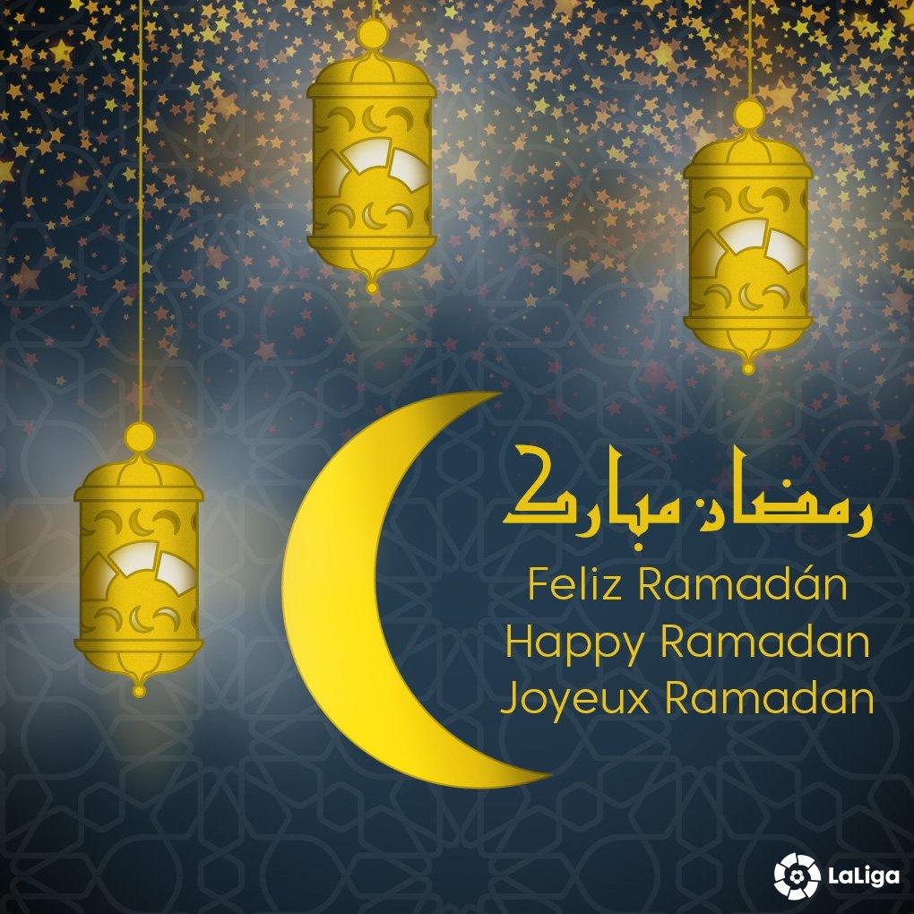 پیام توئیتری لالیگا درپی فرا رسیدن ماه رمضان +عکس