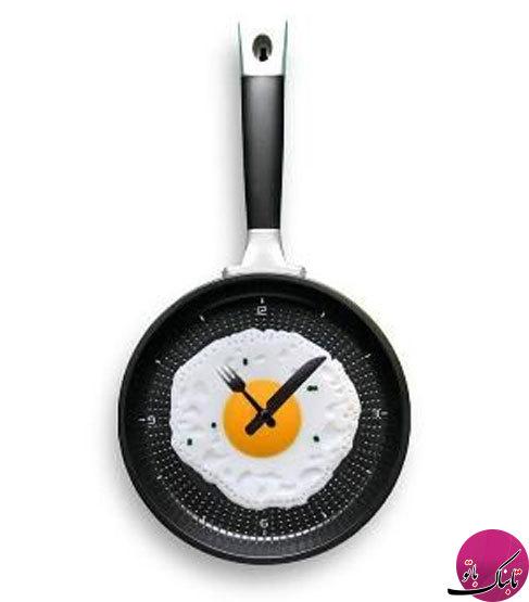ساعتدیواریهایی با طرحهای جالب و عجیب