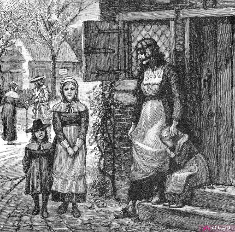مجازات وحشتناک زنان پر حرف در قرون وسطا