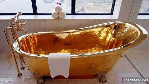 سوییت هتل از جنس طلا