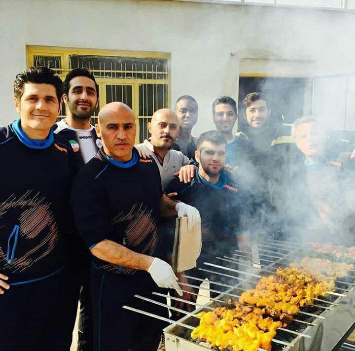 علیرضا منصوریان در حال خوشگذرانی +عکس
