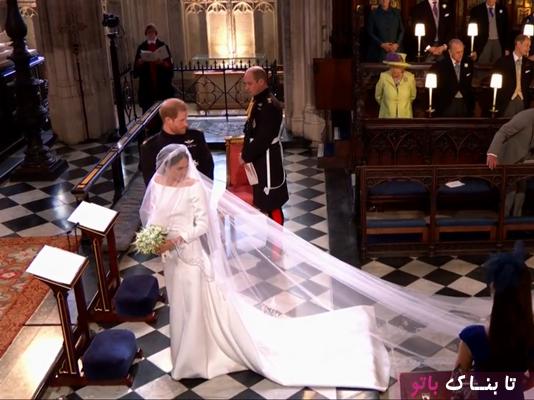 دختری که در مراسم ازدواج هری و مگان مارکل اندوهگین بود!