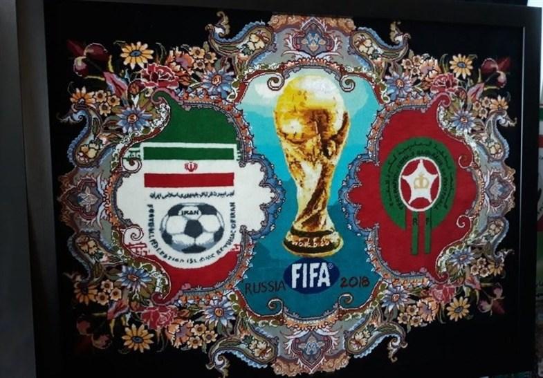 رونمایی از قالیچههای تیم ملی ایران در جام جهانی +تصاویر