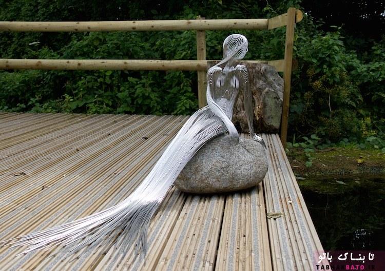 ادغام طبیعت با مجسمه های فانتزی
