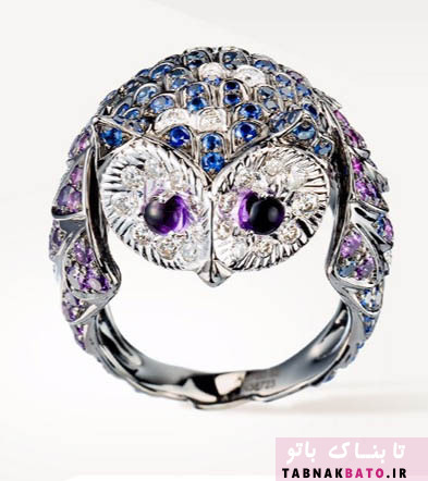 طراحی جواهرات شگفت انگیز با الهام از حیوانات و گیاهان