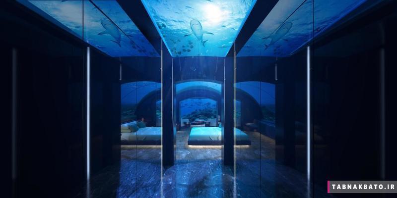اولین خانه ی زیر آب در جهان
