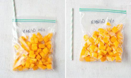 11 روش برای فریز کردن صحیح مواد غذایی