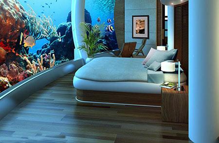 هتل پوزیدون از هتل های لوکس زیر آب