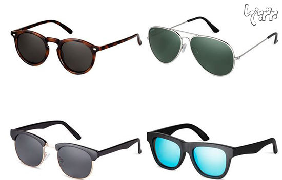 بهترین برندهای عینک آفتابی برای آقایان