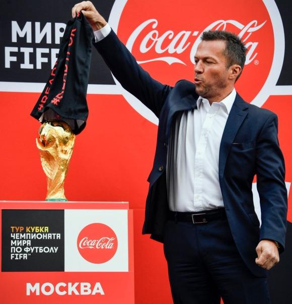 رونمایی از کاپ جام جهانی در روسیه +تصاویر
