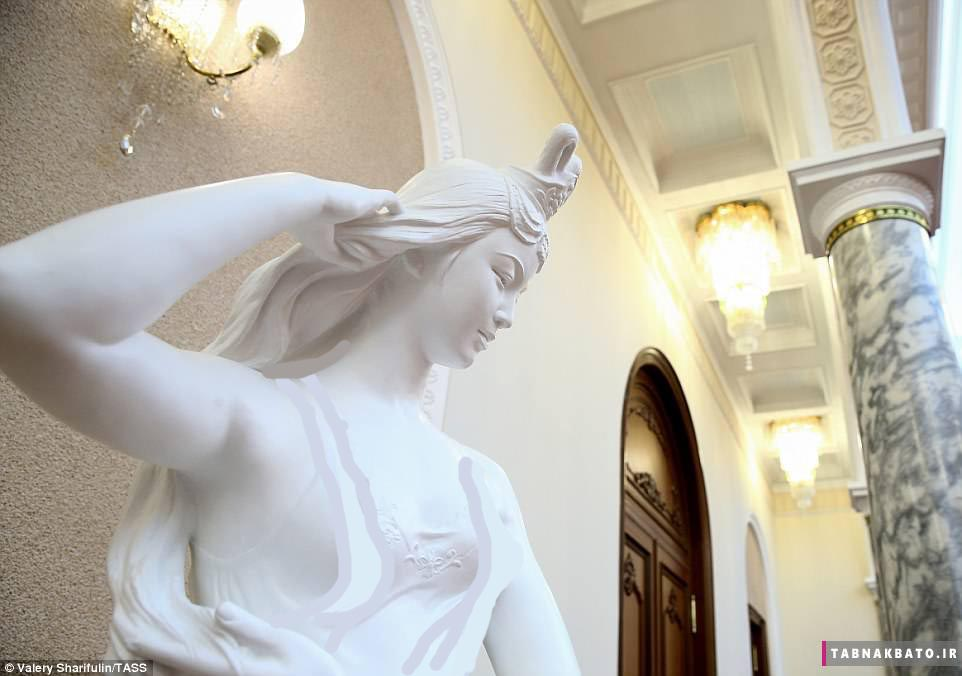 نخستین تصاویر از درون قصر «مرموز» کیم جونگ اون