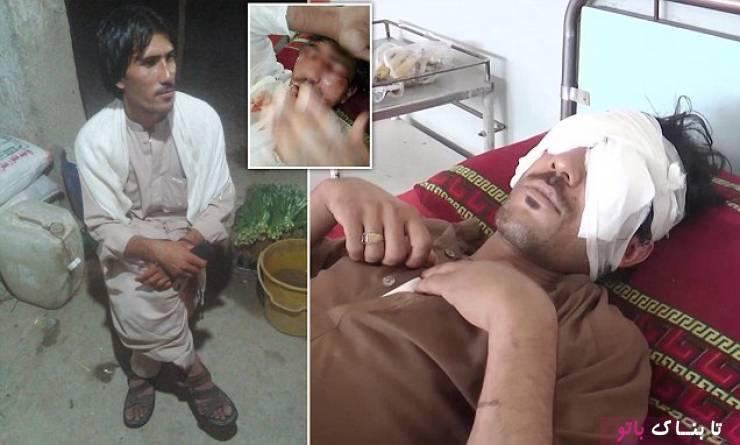 مجازات هولناک خانواده ی پاکستانی برای جوان عاشق!/ عکس