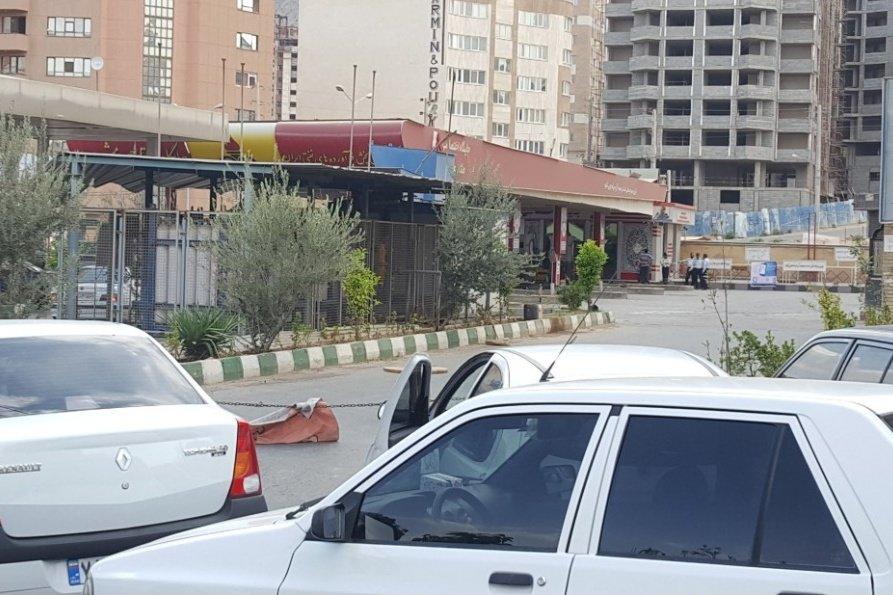 بنزین در شیراز کمیاب شد +عکس