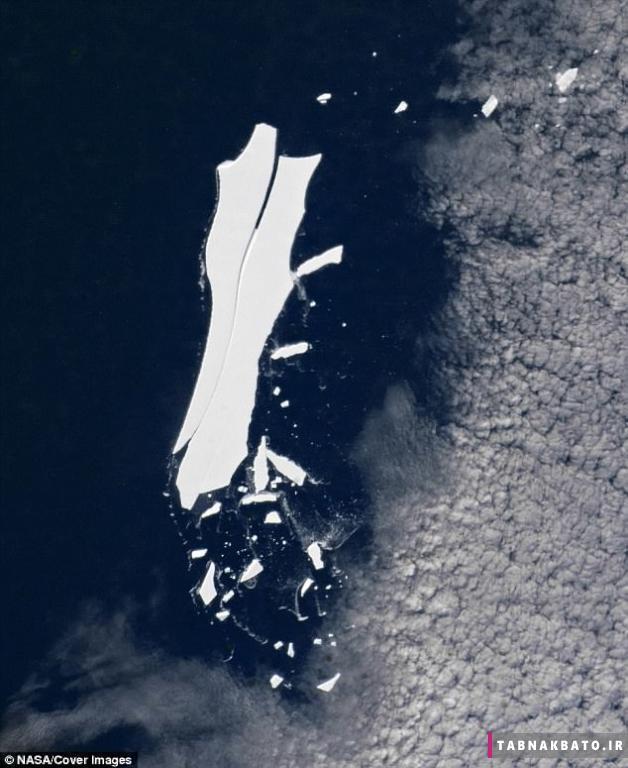 زمین بزرگترین کوه یخی را از دست داد