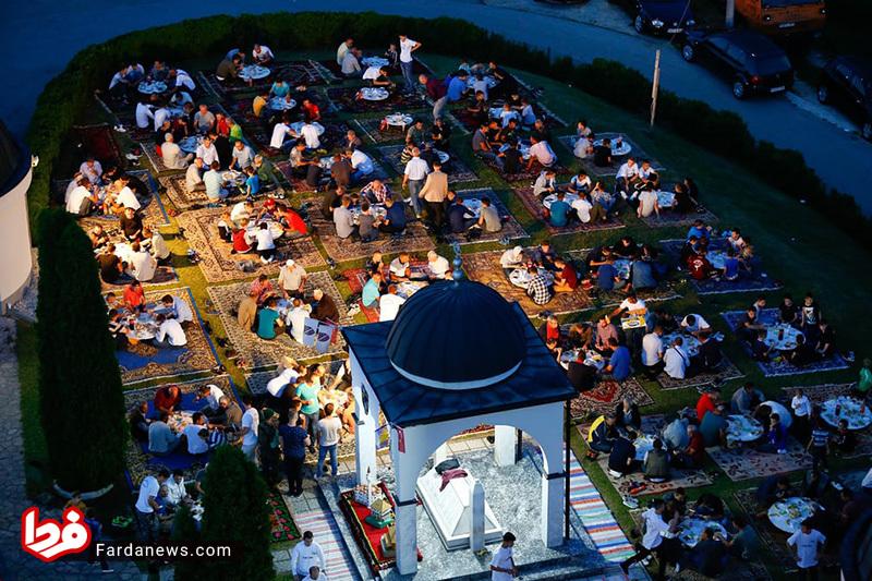 افطار زیبا به سبک اروپاییان +عکس