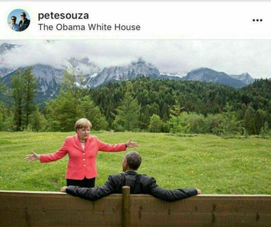 تصویر جنجالی که عکاس «اوباما» منتشر کرد