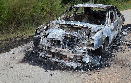 گوشی سامسونگ باعث انفجار یک خودرو شد+عکس