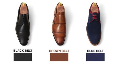 نکاتی برای ست کردن کفش با کمربند آقایان