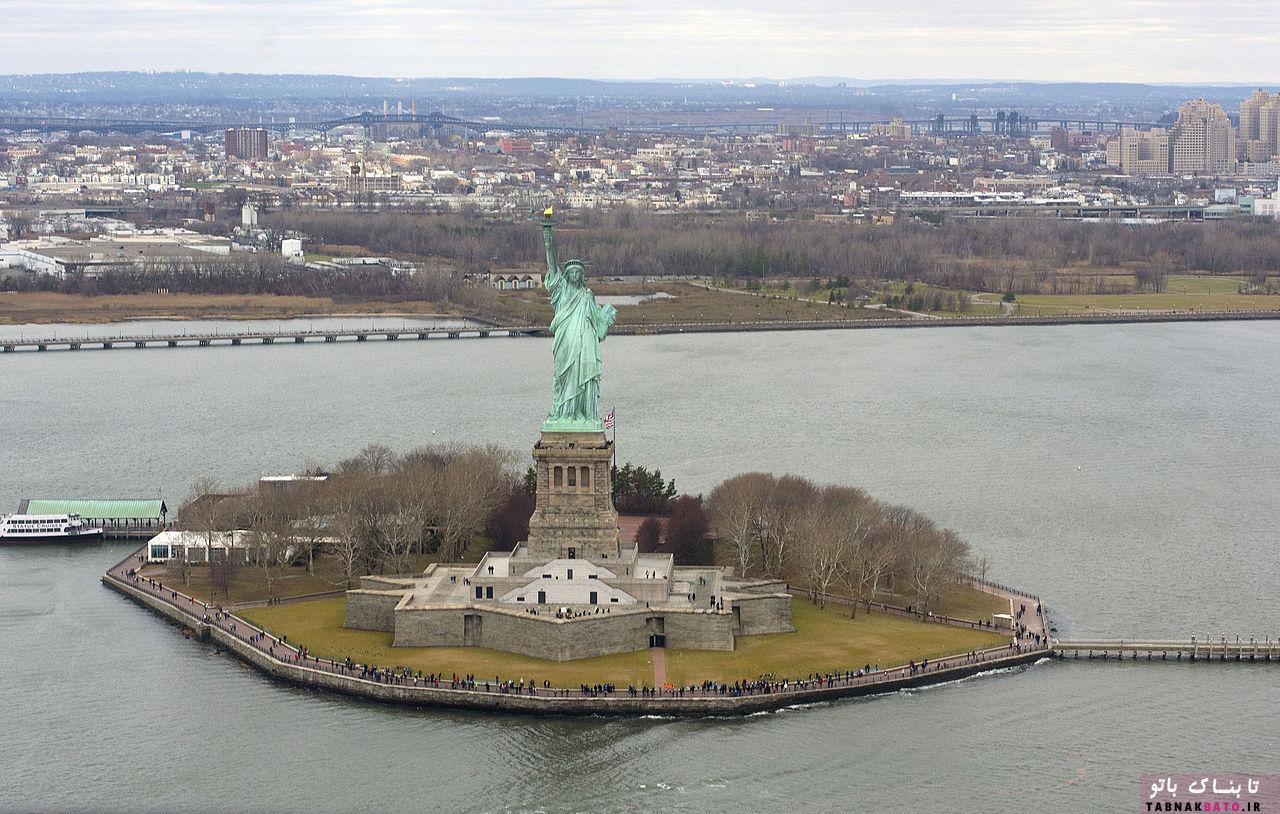 مجسّمه آزادی آمریکا از نگاه شاهزاده