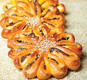 نان گل خرما، عصرانه ای انرژی بخش