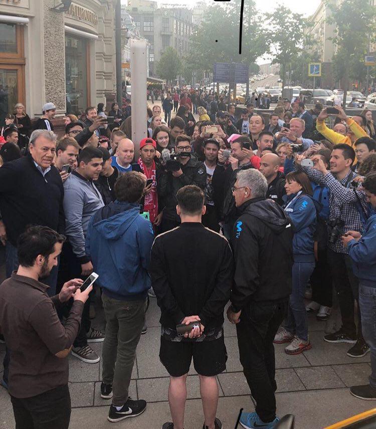 دستگیری مسی ایرانی توسط پلیس روسیه +عکس