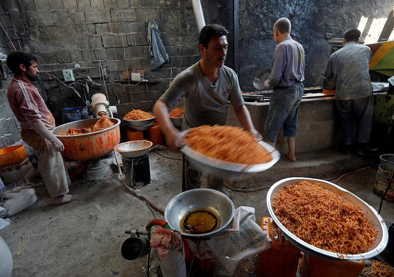 گزارش تصویری: افغانستان برای عید فطر آماده میشود