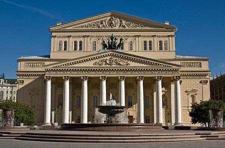 تصاویری از تالار بولشوی یکی از زیباترین و مشهورترین تالارهای جهان