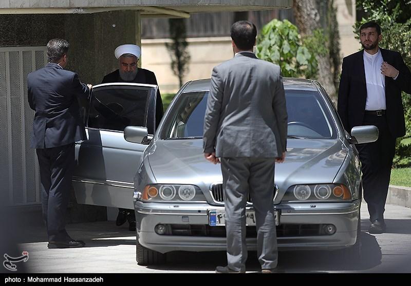 ماشین لاکچری که حسن روحانی سوار میشود+عکس