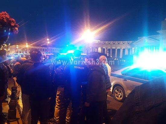 بازداشت هوادار ایرانی در سنت پترزبورگ+عکس