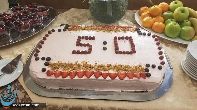 کیک خاص جشن پیروزی روسها در برابر عربها +عکس