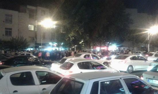 جشن و پایکوبی مردم در خیابان های پایتخت+عکس