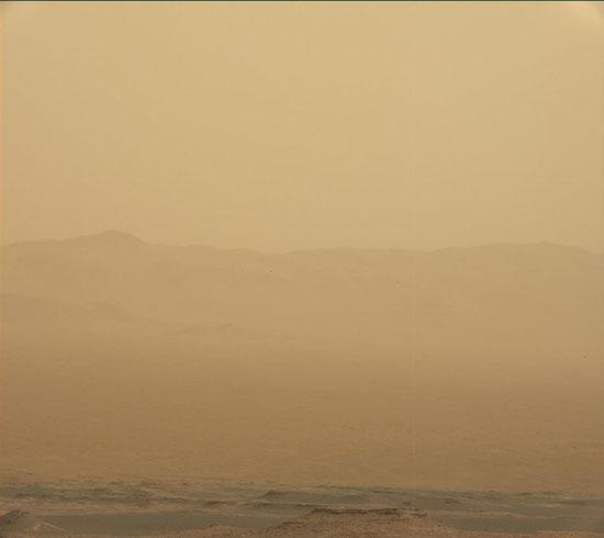 طوفان سرخ مریخ در عکس روز ناسا+عکس
