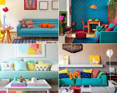 ۶ راهکارهای ساده برای افزودن رنگ در دکوراسیون