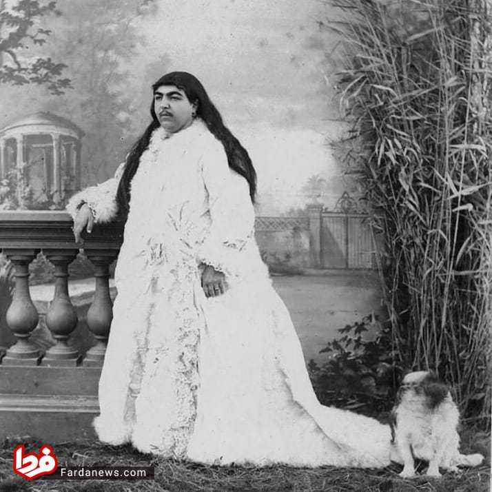 ناصر الدین شاه درباره سبیلهای دخترش چه گفت؟ +عکس