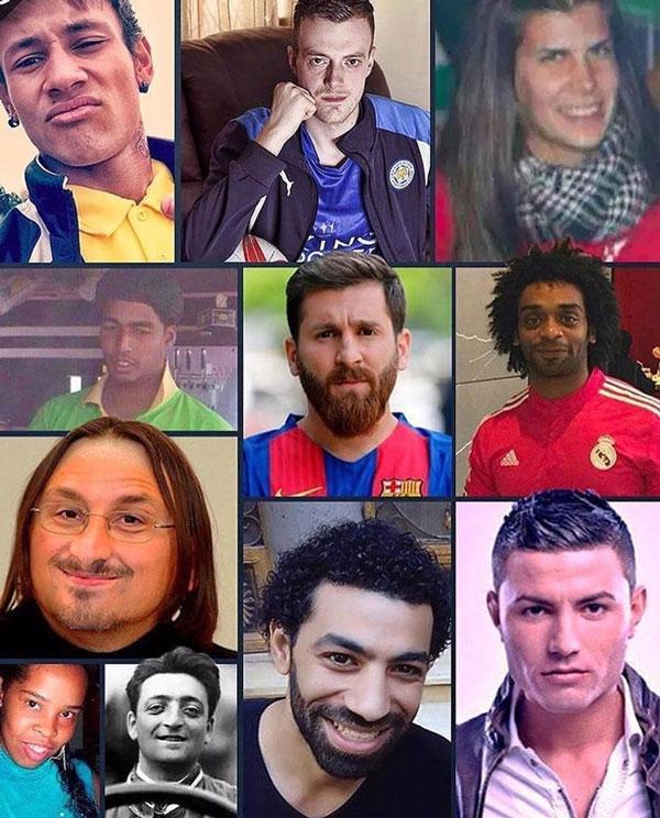 بدلهای فوتبالیستهای بزرگ +عکس